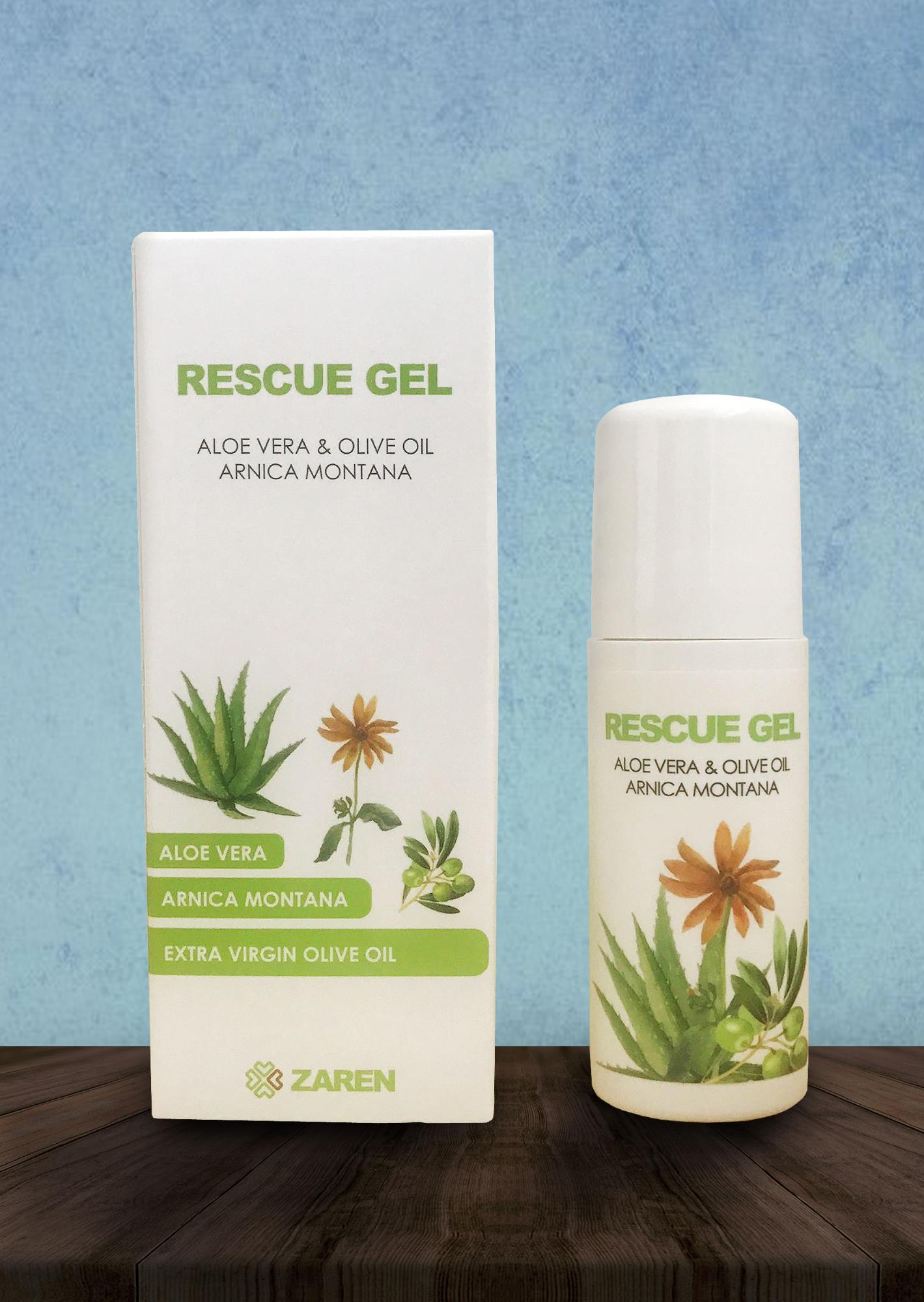 RESCUE GEL ALOE VERA - 60 ml